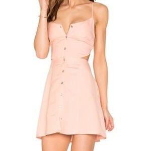 NWT Dolce Vita Blush Open Back Casual Dress